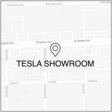 2019 Las Vegas Event Las Vegas Showroom Map Icon