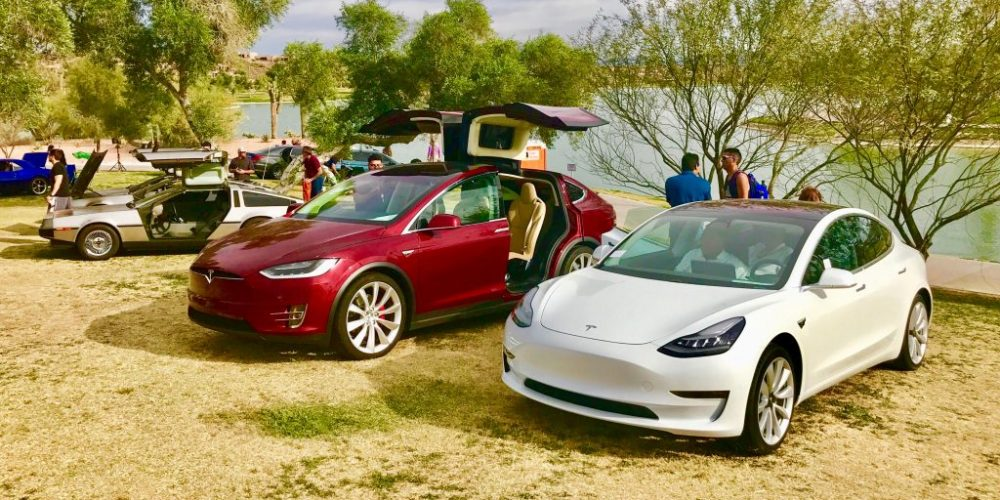 TESLA AT CONCOURS